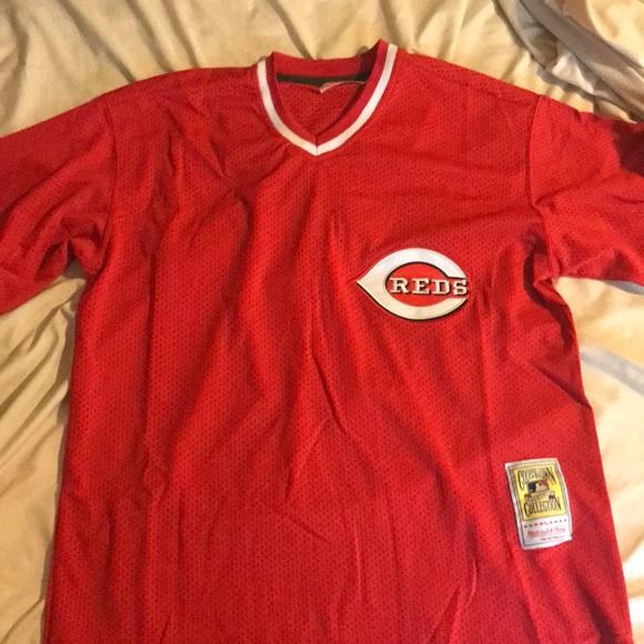 pretty nice 3cc5e d5274 Barry Larkin Cincinnati Reds Jersey